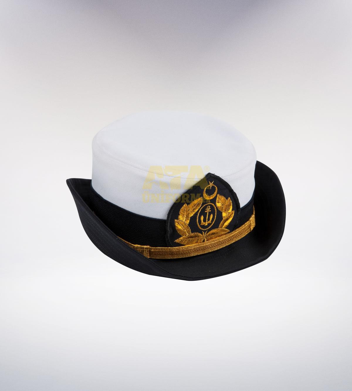 ATA-1114 Deniz tören şapka (Bayan) - deniz elbiseleri   deniz üniformaları   deniz kıyafetleri