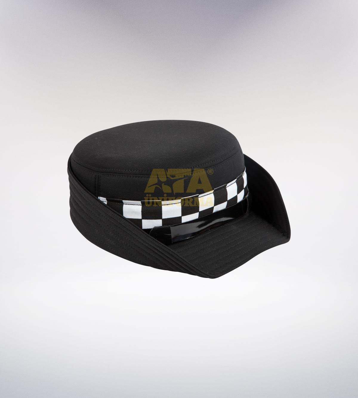 ATA-1115 Özel güvenlik tören şapka (Bayan) - özel güvenlik elbiseleri | özel güvenlik  üniformaları | özel güvenlik kıyafetleri