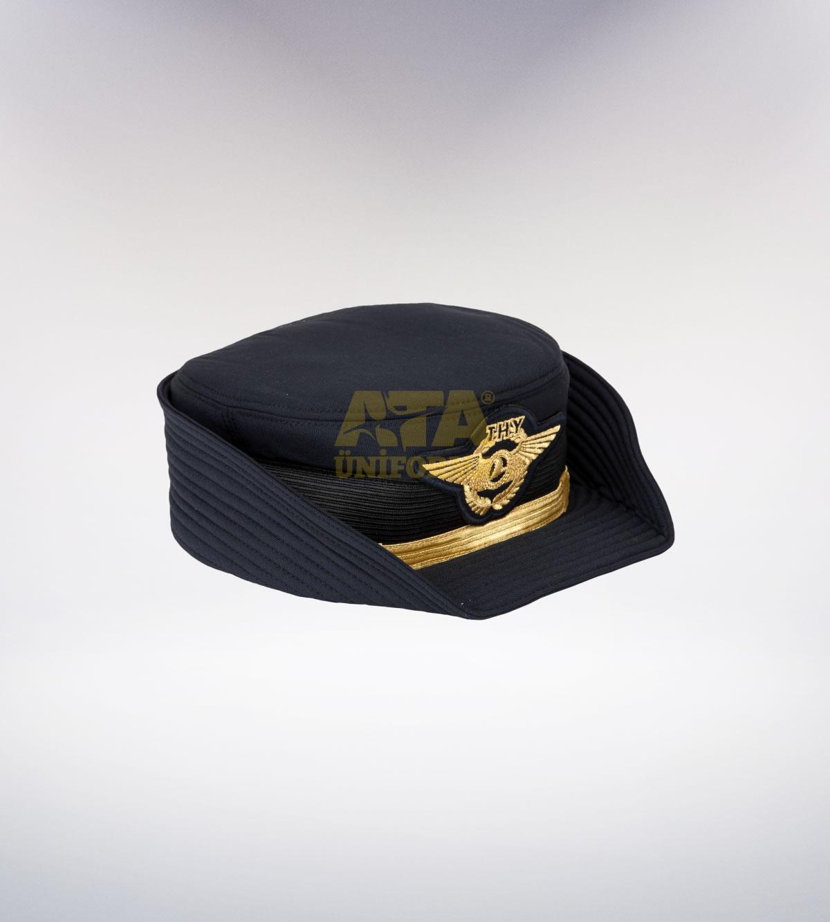 ATA-1117 Pilot tören şapka (Bayan) - pilot elbiseleri | pilot  üniformaları | pilot kıyafetleri
